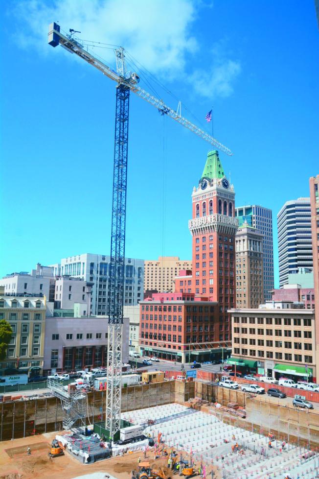 屋崙市正在興建眾多住房計畫,希望緩解住房危機。但聯邦若削減租金補助預算,提升租金,會讓很多人無家可歸。(記者劉先進╱攝影)