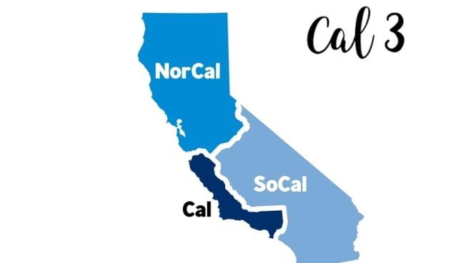 將加州1分為3的一項選民提案,已獲得足夠選民簽名,將在今年11月公投。(美聯社)