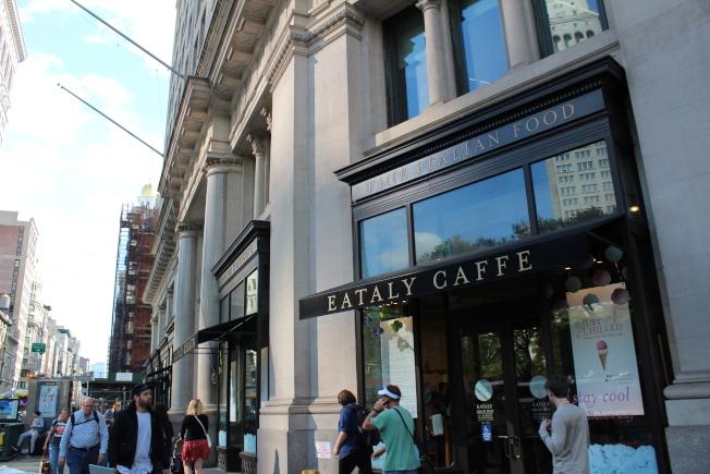 Eataly匯集了眾多義大利美食。(記者劉大琪/攝影)