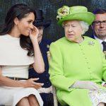 新媳婦梅根 首次與女王共同出席活動