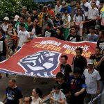 港七一遊行 警硬塞起點 民陣擬抗命
