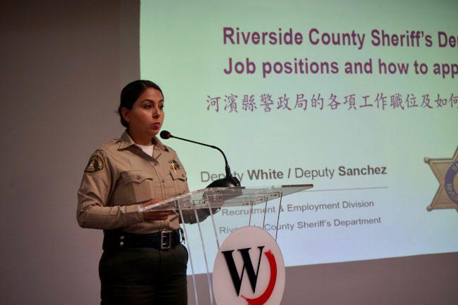 河濱縣警局徵才 雙語、高學歷可加薪 歡迎亞裔加入