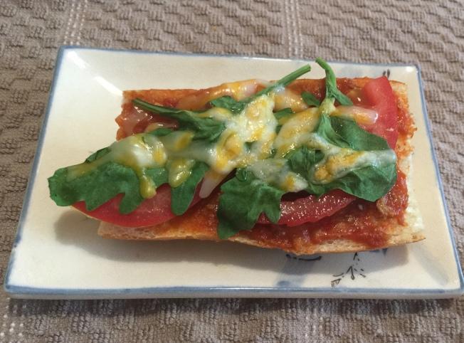 簡易芝麻菜披薩