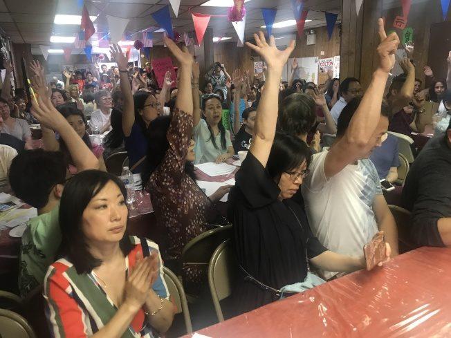 反廢SHSAT 民代社區籲組「南布碌崙學校質量聯盟」抗爭