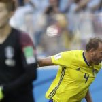 世足/格蘭奎費斯特12碼罰球致勝 瑞典1:0勝南韓
