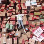 天貓送史上最大禮包 南京女大生1人獨得618包裹