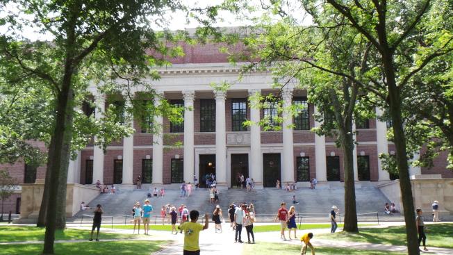 哈佛大學。(記者唐嘉麗/攝影)
