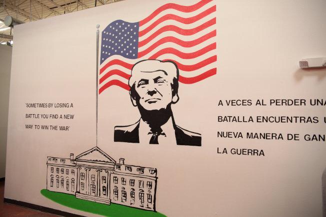 川普總統20日簽署行政命令,宣告停止拆散非法入境移民家庭。圖為美國衛生與福利部設在德州布朗斯維爾的無證青少年收容中心。(路透)