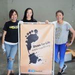 「舊鞋救命」 華人媽媽徵3萬雙鞋 送愛非洲