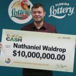 他只花25元買彩券 抱走748萬獎金