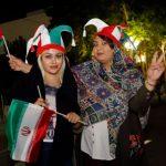 突破禁令 伊朗女性到體育場看世足直播