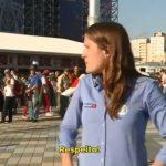 播報世足賽險遭強吻 女記者鏡頭前爆氣飆罵