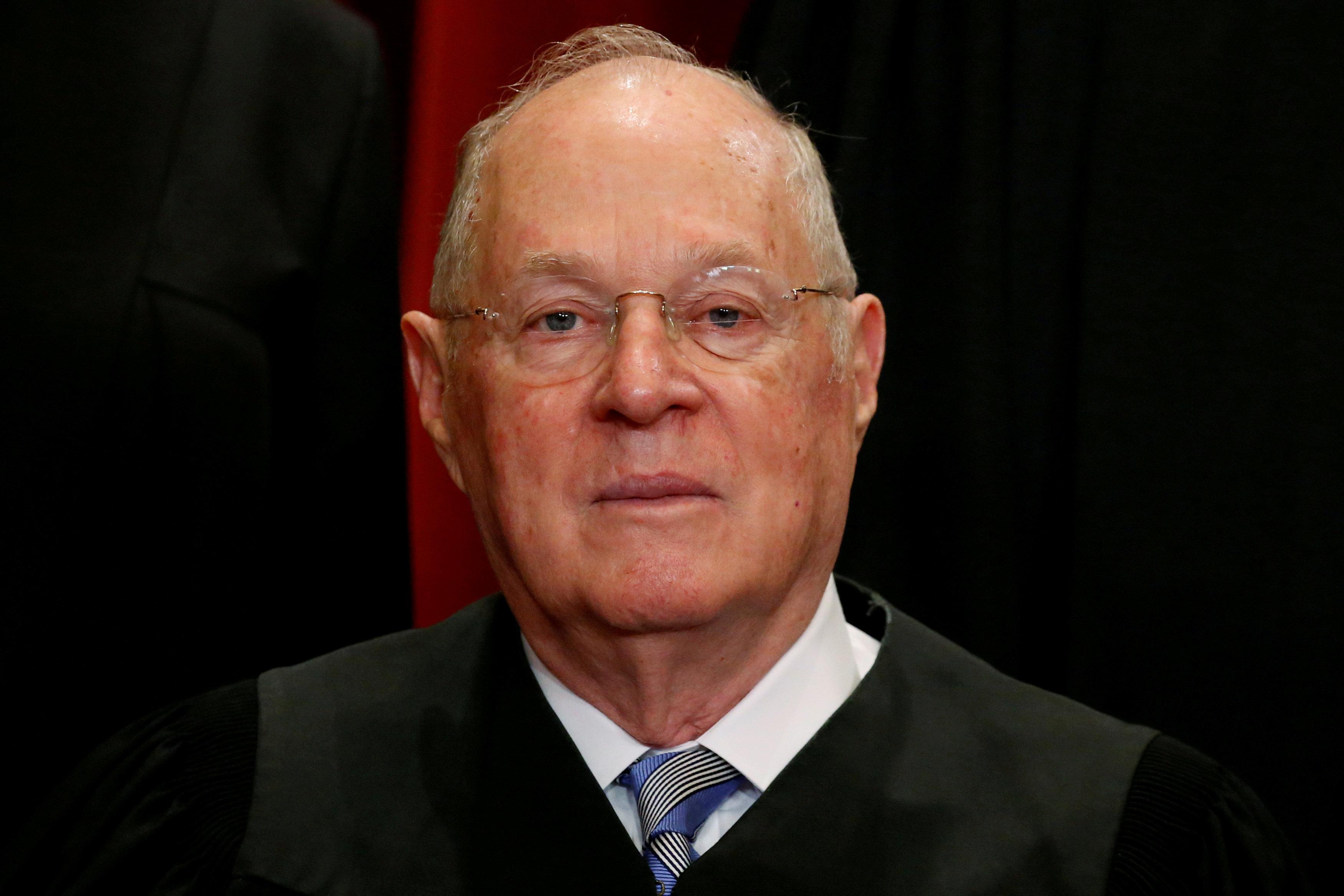 最高法院大法官甘迺迪退休,將導致最高法院路線重整。(路透)