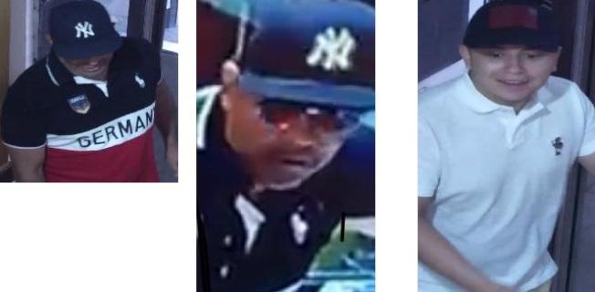 這兩名嫌犯合夥在法拉盛的一家珠寶店偷竊。(警方提供)