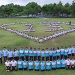 〈圖輯〉泰國網友大集氣 為足球隊員祈福
