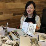 華裔吳芬妮 畫出城市靈魂