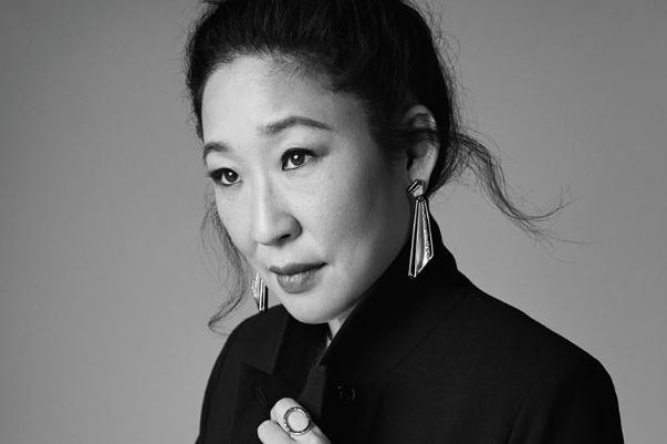 因「實習醫師(Grey's Anatomy)」一劇走紅的吳珊卓(Sandra Oh)成為首位入圍艾美獎最佳戲劇女主角的亞裔女演員。圖取自推特