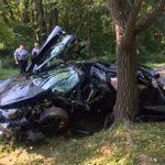 這輛McLaren 720S超短命 交車一天就撞毀