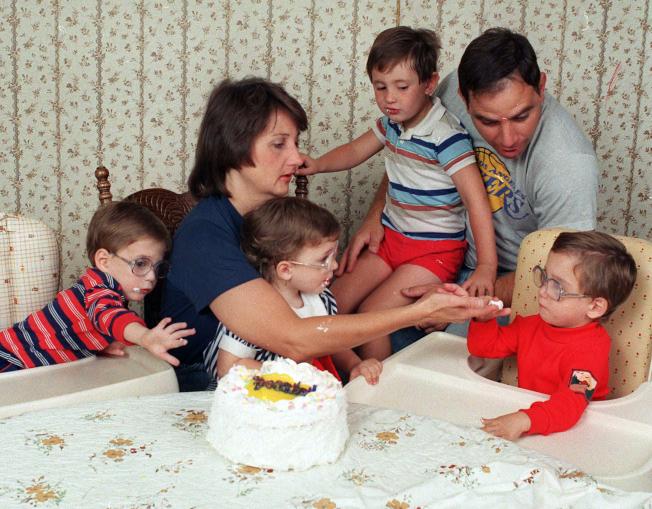 夫妻的育兒觀念若不同,可能成為離婚的導火線。(美聯社)