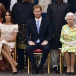 梅根蹺腿坐姿 被批失皇家禮儀