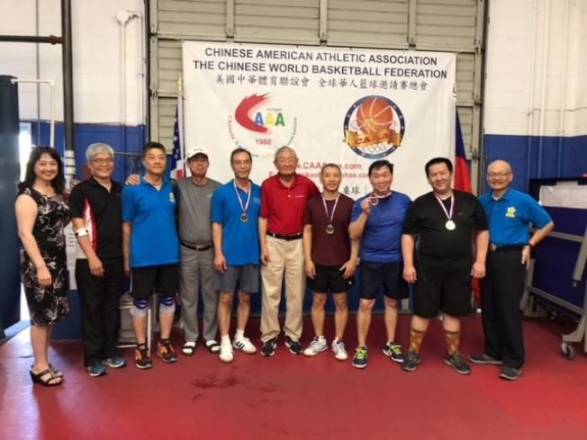 客家聯合會隊勇奪本次海華桌球賽冠軍。(體育會提供)