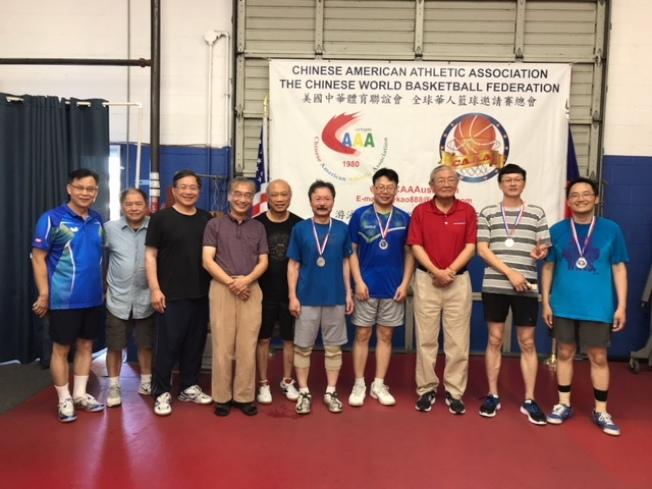 台灣會館一隊獲得亞軍。(體育會提供)