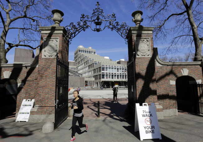 大學入學存在種族歧視,哈佛大學認為亞裔學生太多是個問題。(美聯社)