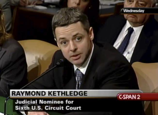 聯邦上訴法院法官凱斯里吉。(美聯社)