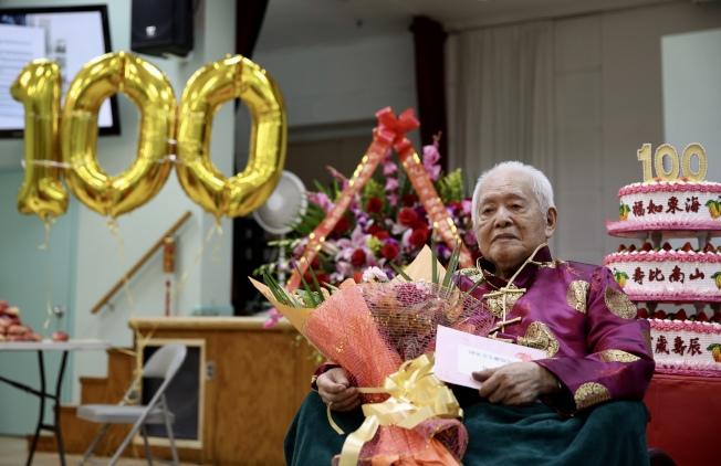 中共歷史專家司馬璐慶祝百歲壽辰。(記者洪群超/攝影)