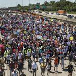 芝城反槍械暴力 數千人94公路示威