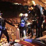 泰國洞穴救援行動/不久會再有4男孩「走出來」