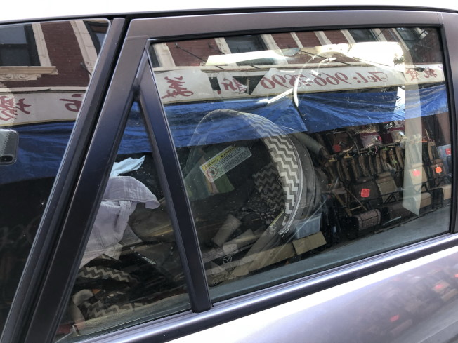 醫生表示,曾有兩、三歲的孩子被媽媽大熱天留在車內僅五、六分鐘而意識喪失、要送急診。(記者顏嘉瑩/攝影)