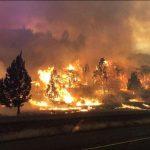 北加克拉瑪松大火燒毀逾3萬畝地