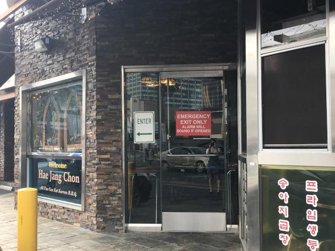韓國城附近商家平均營業時間均比其他城市晚,不少營業較晚的商家均是這次斷電受災戶。(記者謝雨珊/攝影)
