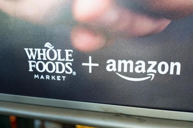 亞馬遜今年的「會員減價日」,納入全食超市的商品。(Getty Images)