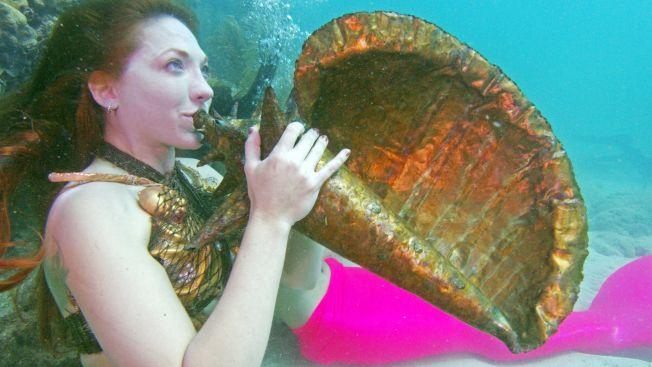 佛羅里達州知名海底音樂節,7日在洛奧礁群熱鬧登場,吸引大批水上活動愛好者,精心打扮前來參加。Getty Images