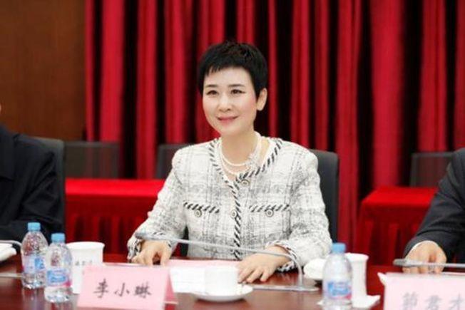 李鵬之女李小琳。(取材自上海交通大學網站)