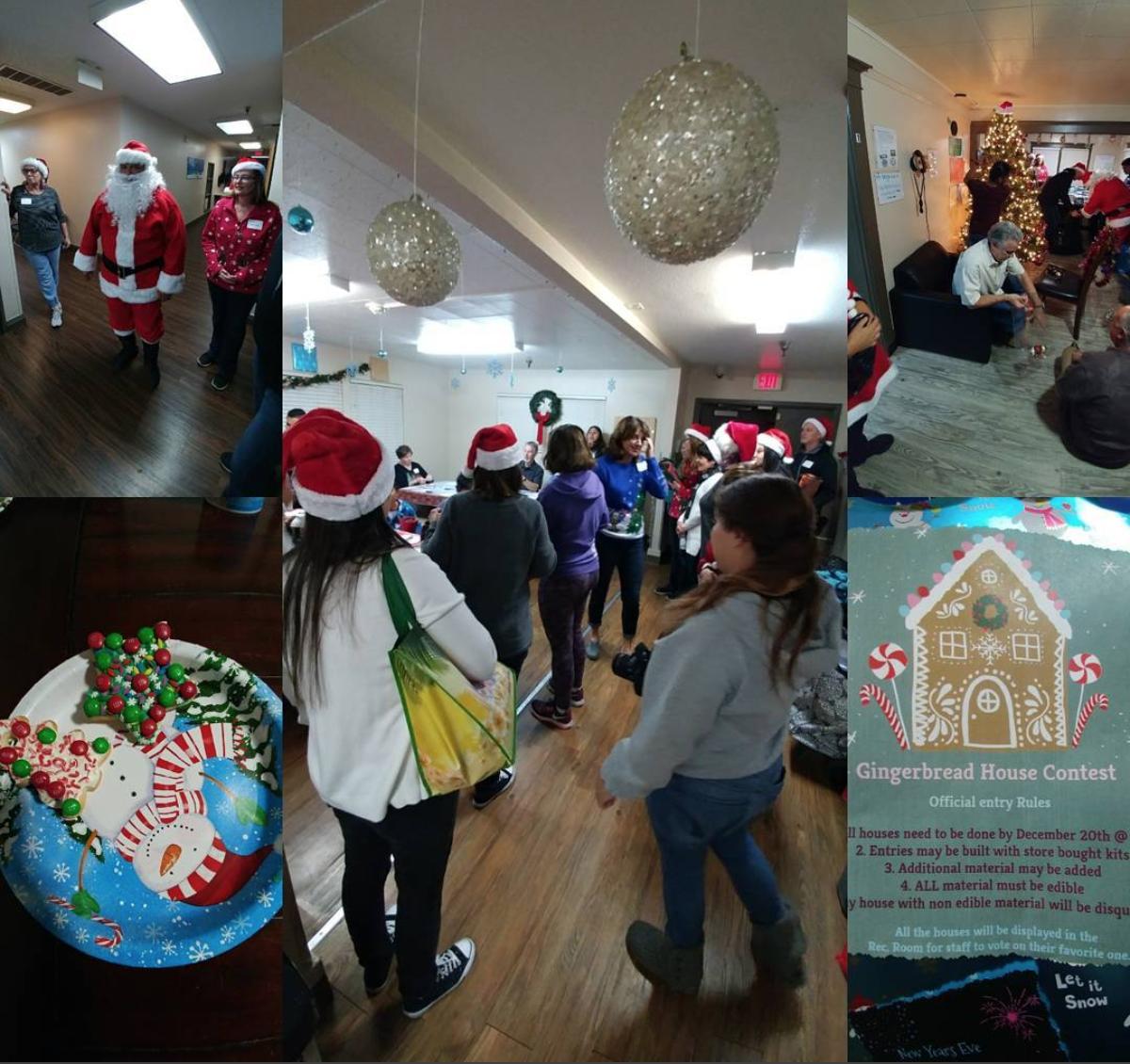 克里坦頓兒童家庭服務中心不僅吃得好、穿得暖,平時還有各類活動,豐富生活。圖為中心聖誕活動。(取材自Crittenton)