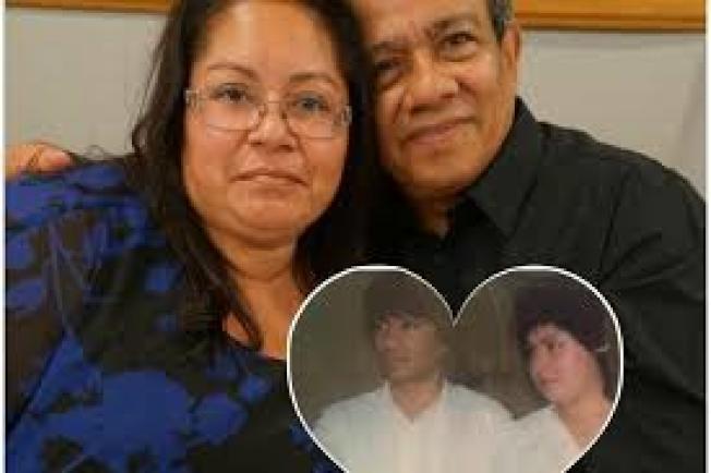 住在布碌崙長達20年的西爾發夫婦,4日前往紐約德拉姆堡軍事基地探望正在當兵的女婿,卻被陸軍查出他們是無證移民,把他們交給移民及海關執法局。(取自GoFundMe網站)