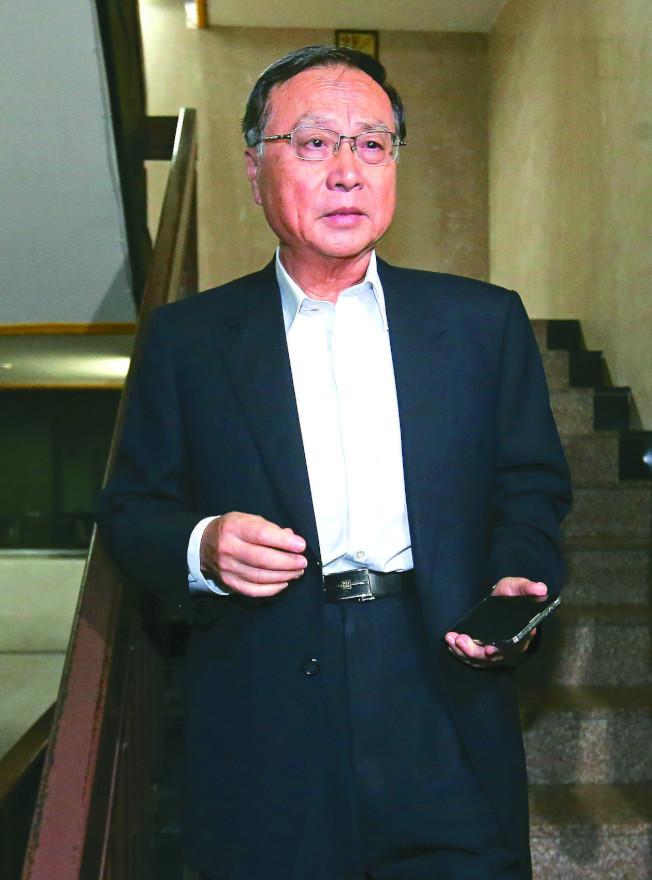 國民黨前行管會主委張哲琛因處理黨產交易,曾收到500萬(台幣,約16萬美元)禮金,但他隨即請人退回,但仍被依涉嫌非常規交易等罪嫌起訴。(本報資料照片)