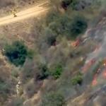 洛杉磯高溫 天文台周邊野火竄燒