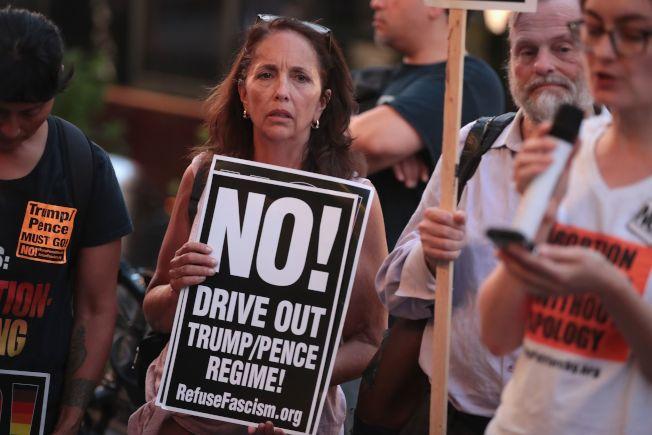 反對人士擔心,提名卡瓦諾會使最高法院嚴重右傾。(Getty Images)