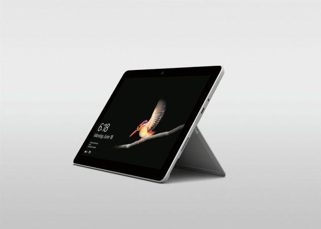 Surface Go平板電腦。(取材自微軟官網)