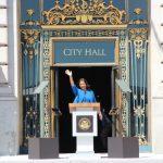 布里德宣誓就任 成舊金山首位非裔女市長
