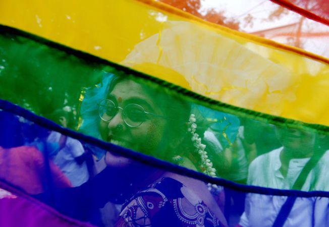 印度政府今天指出,不反對同性戀除罪化。Getty Images
