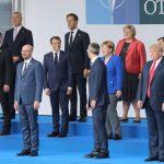 北約峰會/川普與歐洲領袖互動 氣氛僵硬冰冷