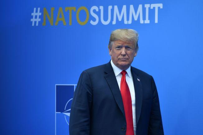 川普在北約峰會要求各國增加軍費。(Getty Images)