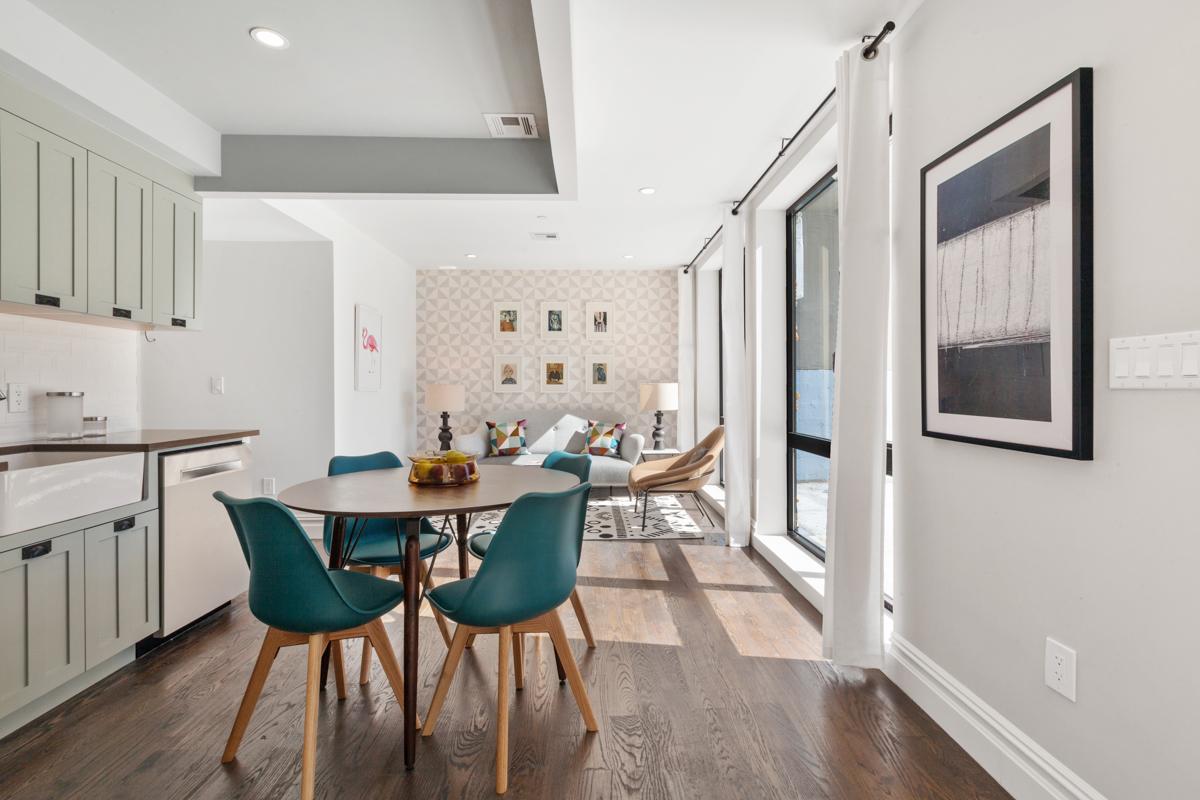 「布許維克大道1255號」打造現代化共有公寓。(記者劉大琪/攝影)