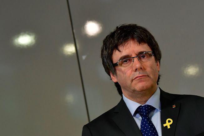 普伊格蒙特(Carles Puigdemont)去年10月宣告加泰隆尼亞獨立,行動失敗後西班牙當局對他發出歐洲逮捕令,他3月底在德國被捕。Getty Images