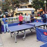 華埠乒乓球賽開打 緬懷李孟賢